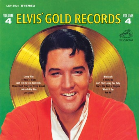 FTD-CD『Elvis Gold Records Vo. 4』 (2-CD)