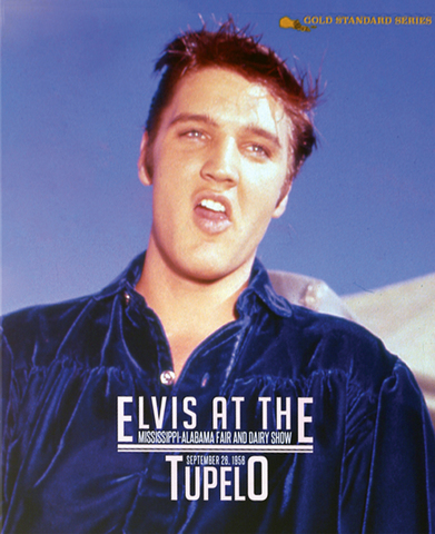 豪華写真集『Elvis At The Tupelo - Mississippi Alabama Fair and Dairy Show on Sep. 26 1956』