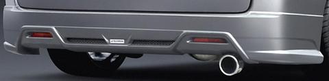RG ステップワゴン リアハーフスポイラー