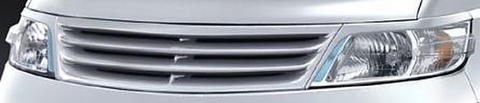 C25 セレナ 前期  フロントグリル&ヘッドライトガーニッシュセット