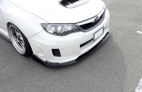 GV WRX STI フロントリップスポイラー
