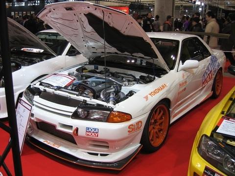 R32 GT-R フロントアンダーデュフューザ(カーボン)