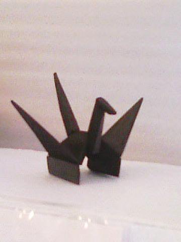 竹炭鶴(単品鶴)(T31)
