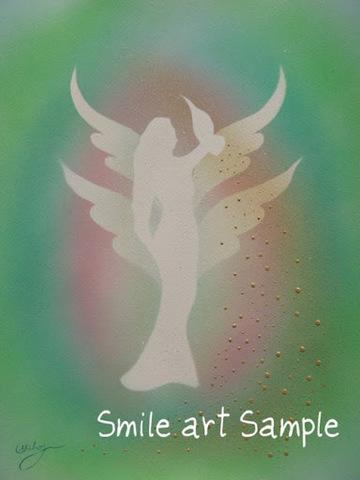 アバンダンシア守護天使  はがき