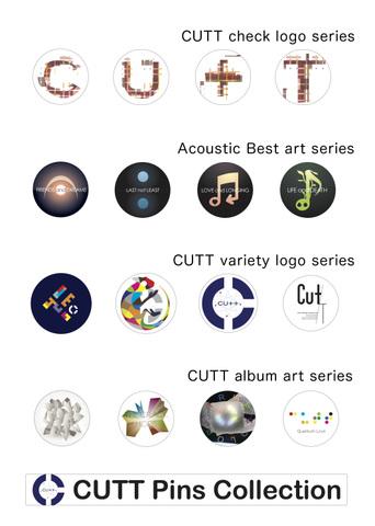 CUTT pins collection