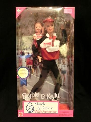 1998年★90's★March Of Dime Barbie&Kelly★バービー&ケリー★人形★フィギュア★