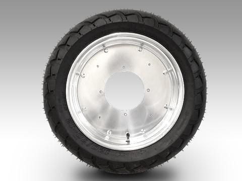 ジャイロキャノピー フロントアルミホイール(プレーンタイプ)バギータイヤ品番055