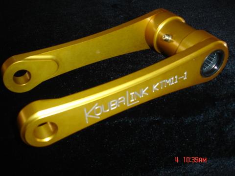 KTM 2011SX-Fローダウンリンク