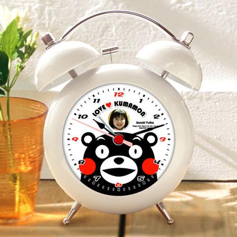 くまモンのオリジナル目覚し時計(Type-A)