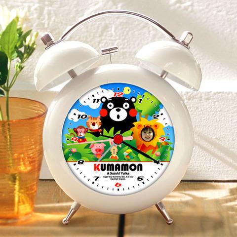 くまモンのオリジナル目覚し時計(Type-D)