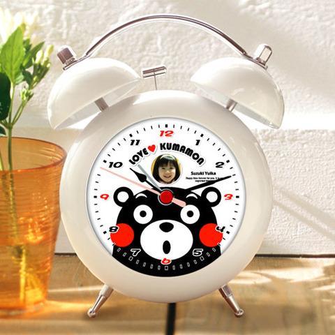 くまモンのオリジナル目覚し時計(Type-B)