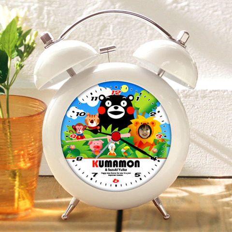 くまモンのオリジナル目覚し時計(Type-C)