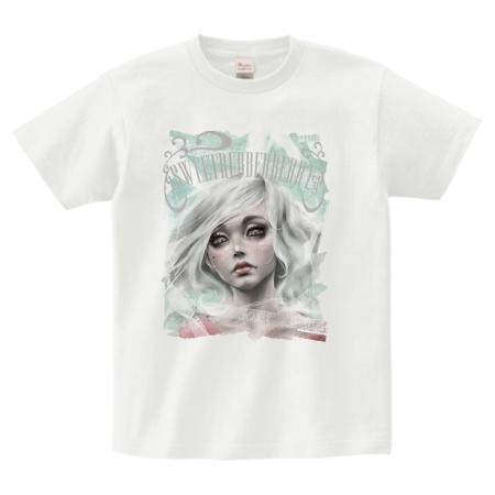 受注生産Teeシャツ Rabbit's gaze