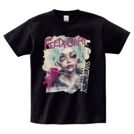 受注生産Teeシャツ FEEDAGIRL