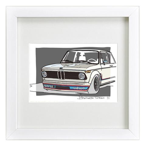 COLORS BMW 2002 ターボ イラスト