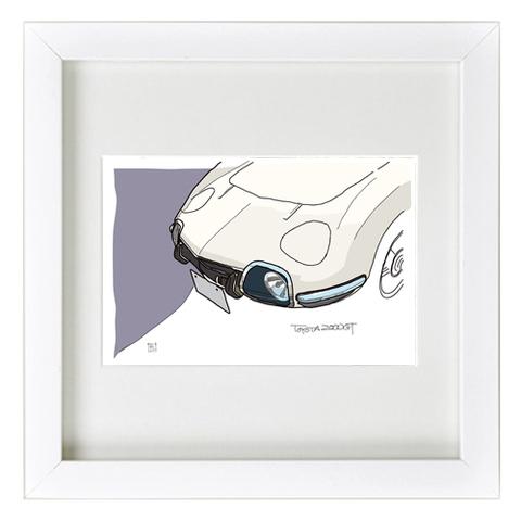 COLORS トヨタ2000GT イラスト
