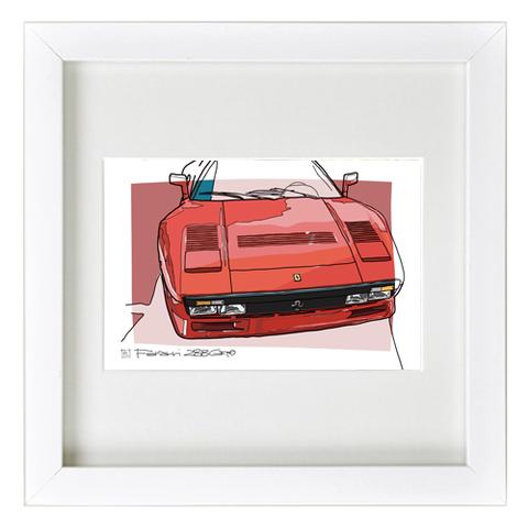 COLORS フェラーリ288GTO イラスト