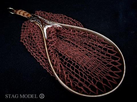 ランディングネット●STAG-MODEL(鹿角モデル/本流用)即売品(1702)2008TDR