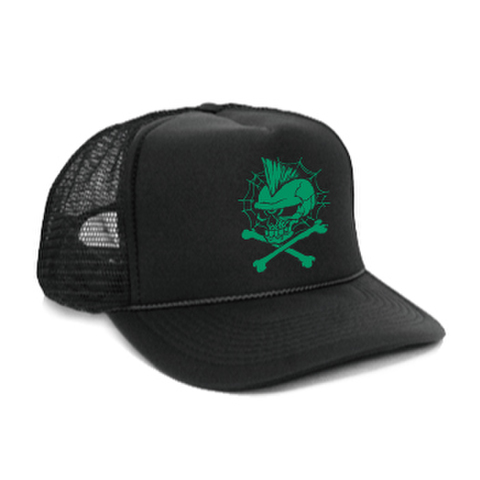 "【CAP】""ONE-EYED""BLK×GREEN"""
