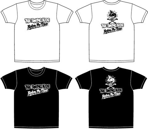 "【Tee】Men's""ONE-EYED""Teee Shirts-BLK,WHT"