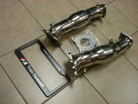 TSP1 R35 GT-R CATターボダウンパイプ