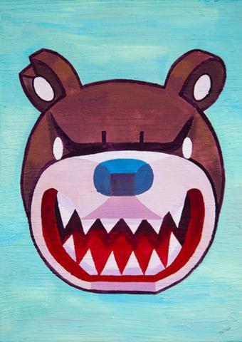 Knuckle Bear Icon