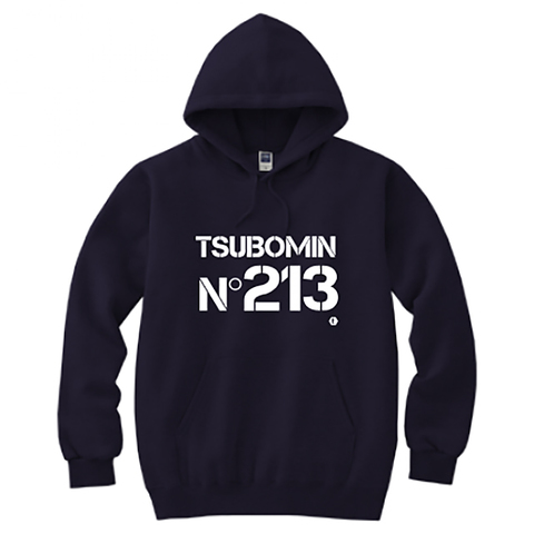 TSUBOMIN / No213 HOODED SWEATSHIRT NAVY