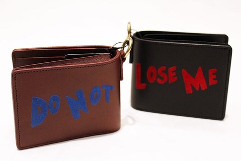 "RE.ACT (リ.アクト) x VALLICANS "" DO NOT LOOSE ME "" Wallet"