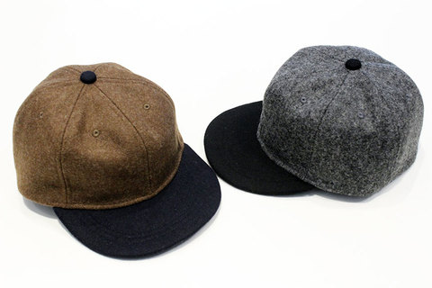 """THE COLOR (ザ・カラー) """" 6 PANEL B.B CAP """" wool"""