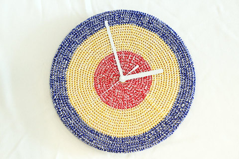 "miraco (ミラコ) "" Miracle Clock "" knitting"