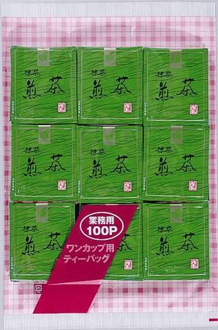TB-006抹茶入煎茶ティーバッグ100p×12