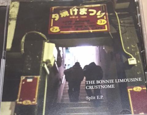 TEH BONNIE LIMOUSINE / CRUSTNOME split EP