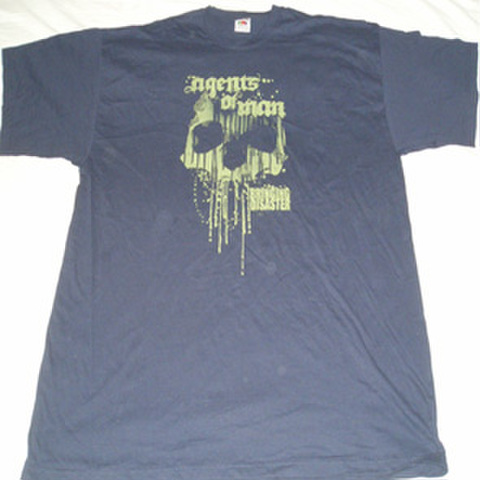 AGENTS OF MAN disaster tour T-shirts