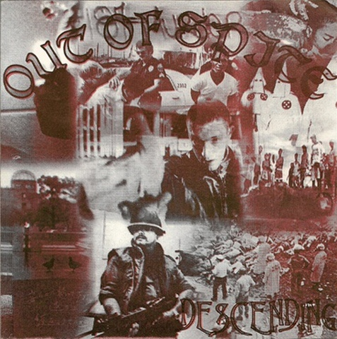 OUT OF SPITE descending 7inch ( USED )
