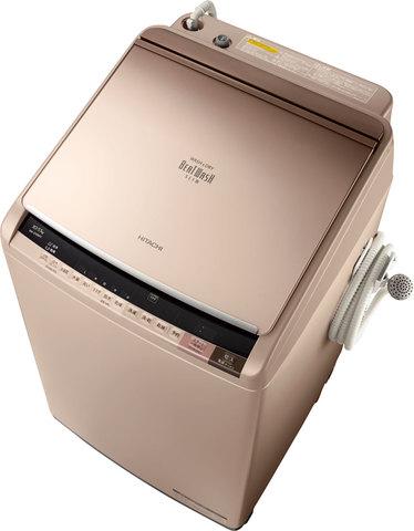 日立 ビートウォッシュ洗濯乾燥機 BW-D10WV