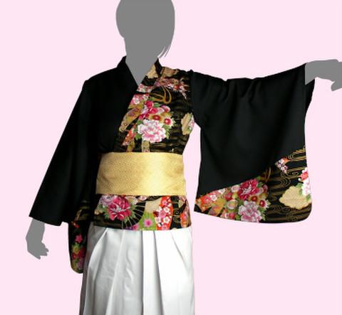 着物風ブラウスの型紙 婦人Mサイズ