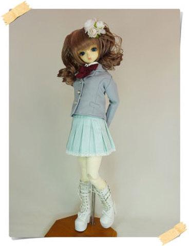 SD女の子用 ジャケットの型紙