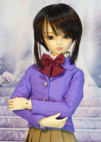 SD13女の子用 ジャケットの型紙
