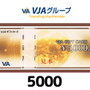 VJA(VISA)ギフトカード(5,000円券)