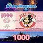東京ディズニーリゾート・ギフトカード(1000円)